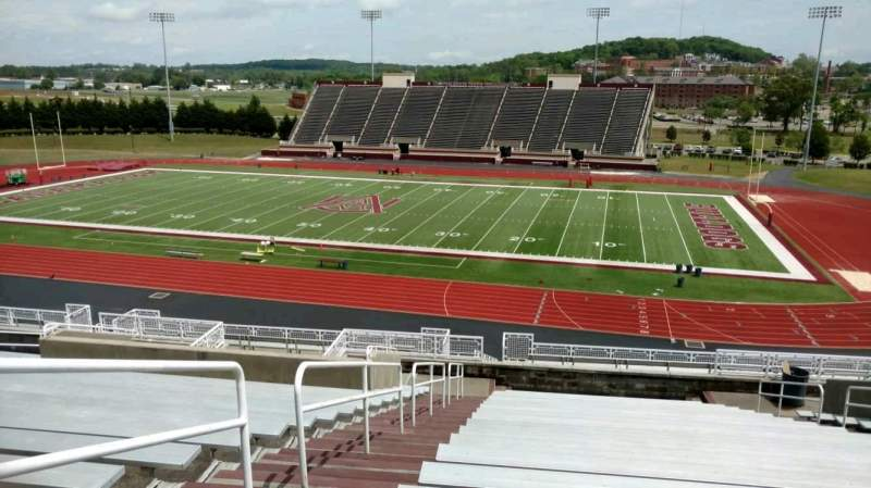 Seating view for Louis Crews Stadium Section 5 Row 20 Seat 11