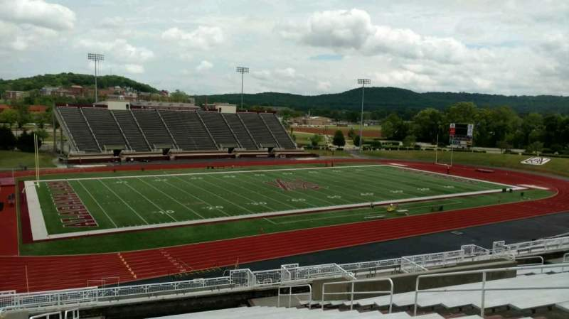 Seating view for Louis Crews Stadium Section 15 Row 20 Seat 11