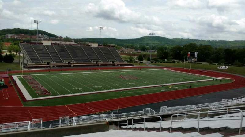 Seating view for Louis Crews Stadium Section 16 Row 20 Seat 11