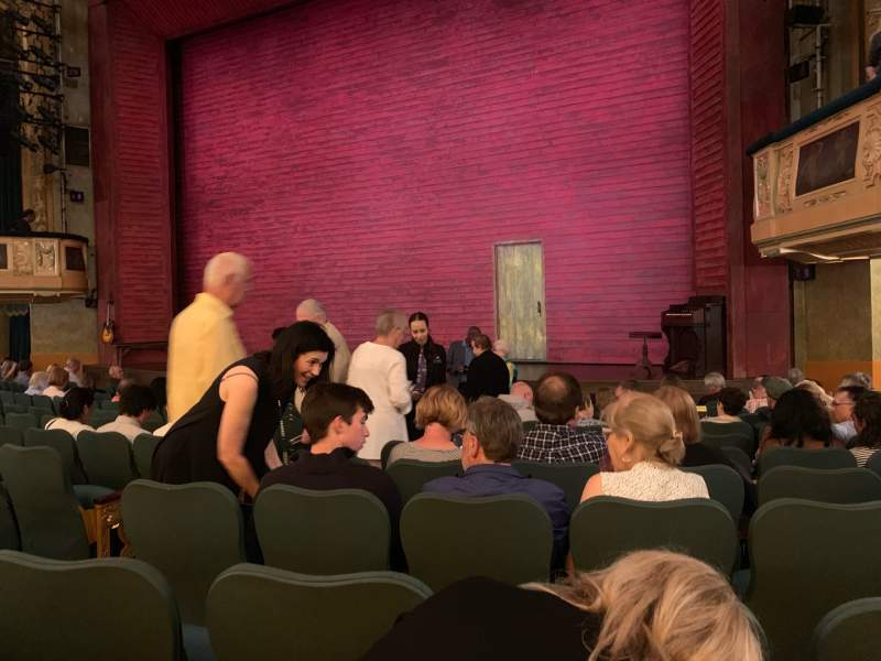 Seating view for Shubert Theatre Section Orcho Row M10