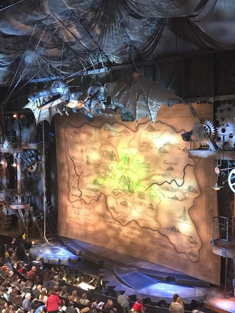 Gershwin Theatre, section: FMEZZ, row: DD, seat: 8