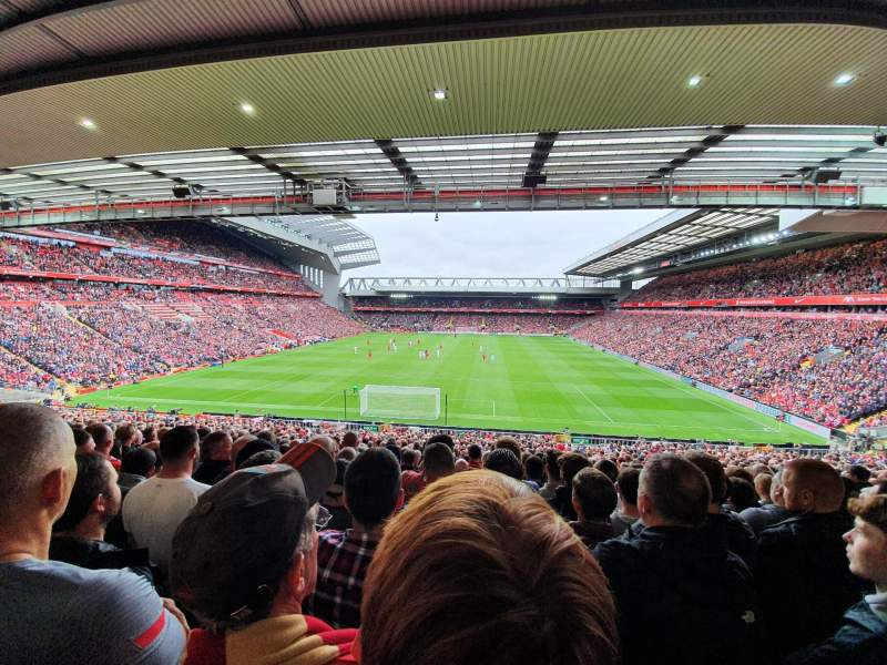 Seating view for Anfield Section 205 Row 41 Seat 89