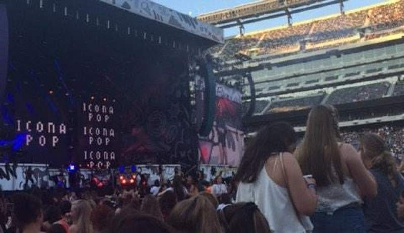 Seating view for MetLife Stadium Section 5 Row 26