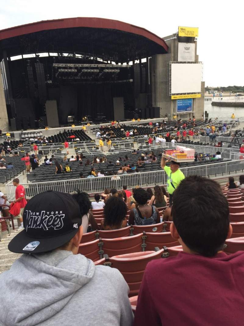 Seating view for Jones Beach Theater Section 11L Row R