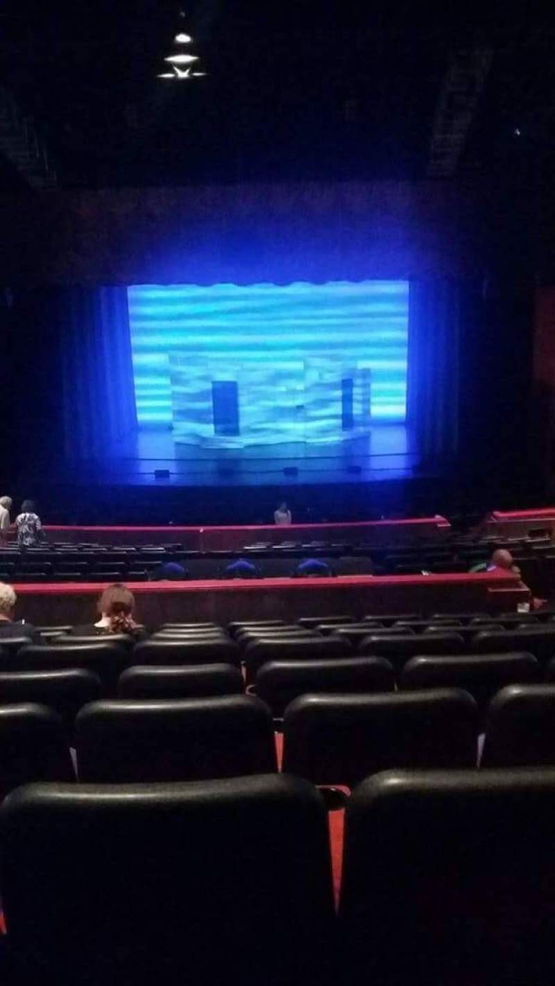 Seating view for Fox Theater at Foxwoods Section Category 2 seating Row K Seat 305