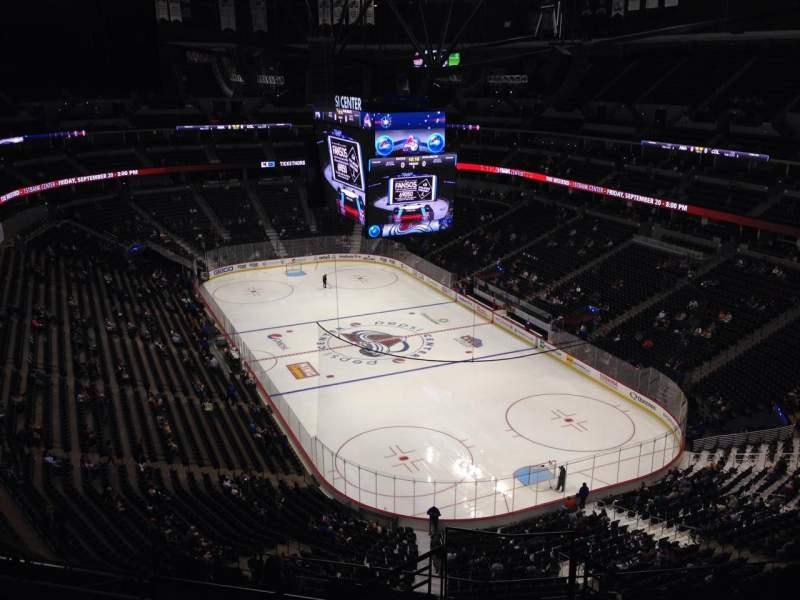 Pepsi Center, section: 328, row: 10, seat: 1