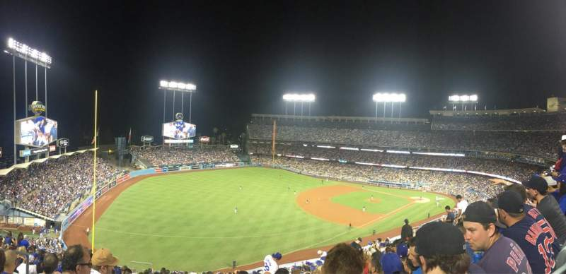 Seating view for Dodger Stadium Section 39RS Row S Seat 21