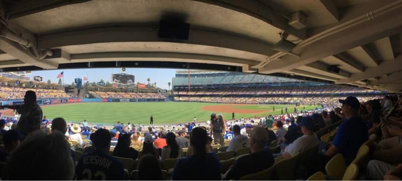 Dodger Stadium, section: 41FD, row: X, seat: 5
