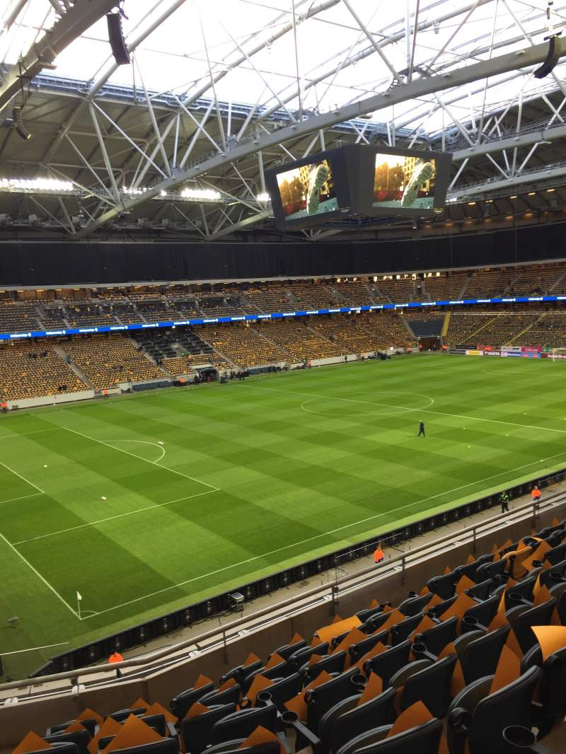 Seating view for Friends Arena Section 206 Row 9 Seat 44