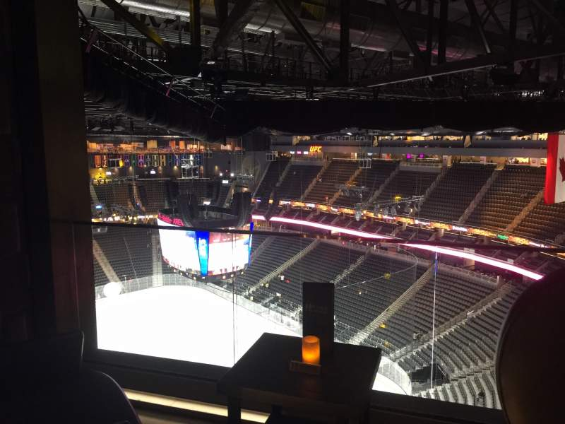 Seating view for T-Mobile Arena Section Hyde Tables