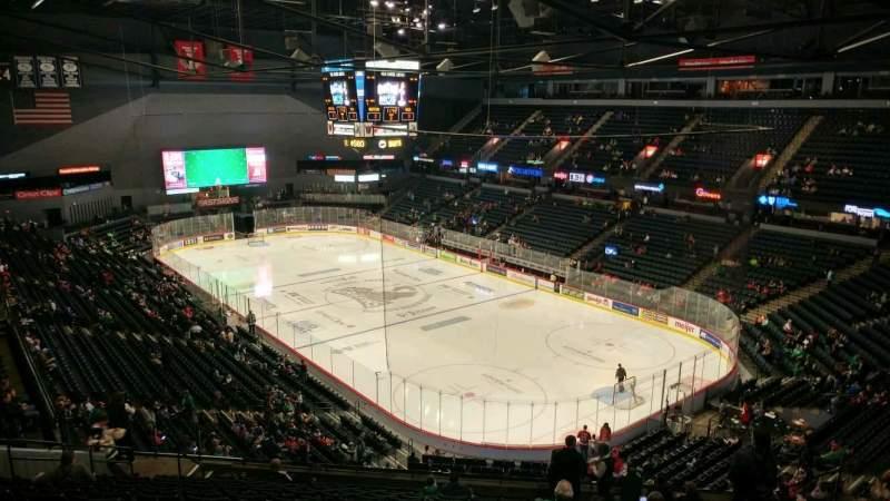 Van Andel Arena, section: 204, row: S, seat: 13