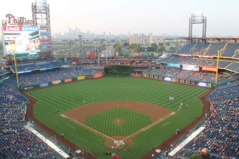 Seating view for Citizens Bank Park Section 421 Row 14
