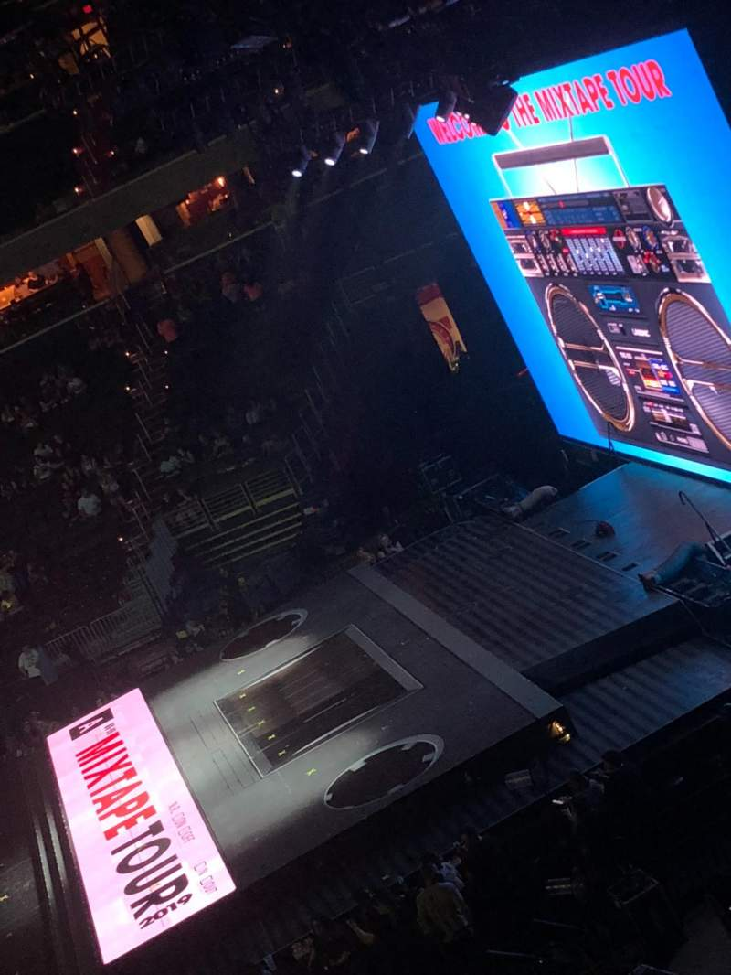Seating view for Capital One Arena Section 218 Row A Seat 1