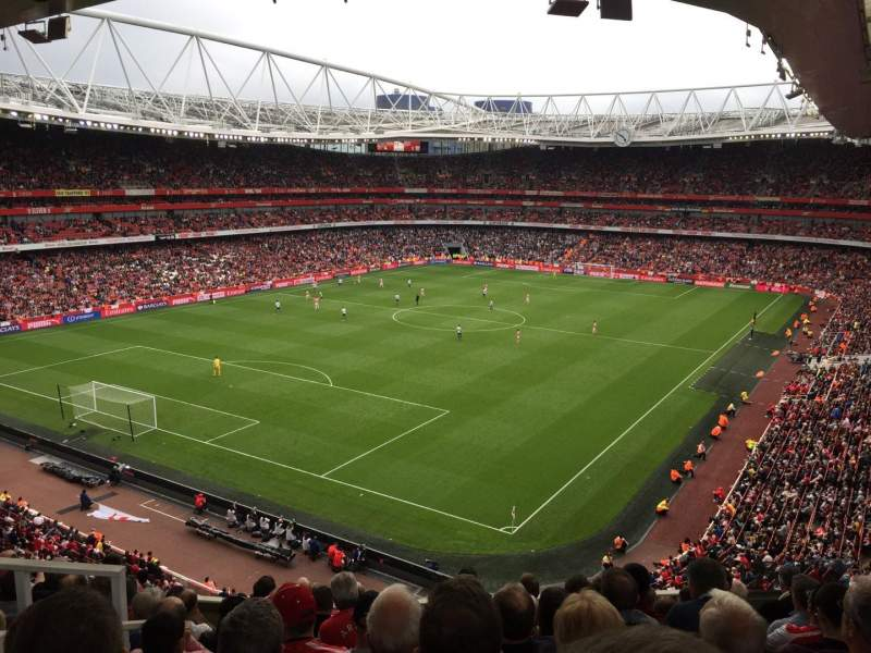 Seating view for Emirates Stadium Section 97 Row 9 Seat 193