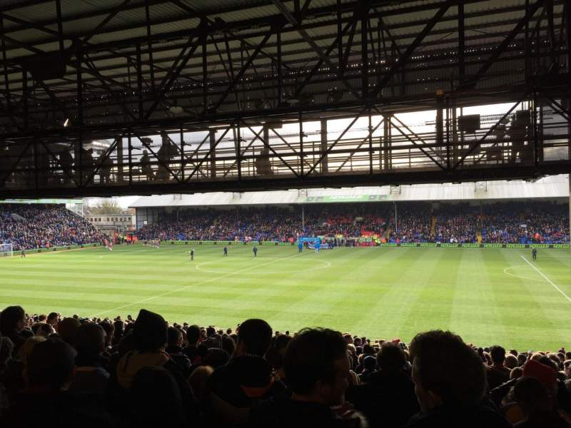Seating view for Selhurst Park Section T Row 34 Seat 67