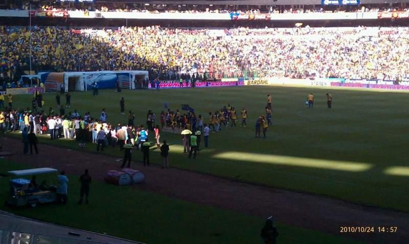 Seating view for Estadio AZTECA