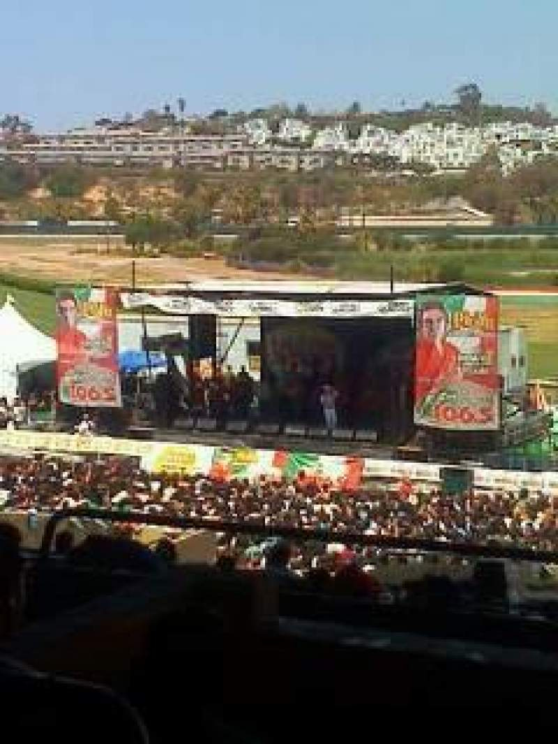 Seating view for Del Mar Racetrack