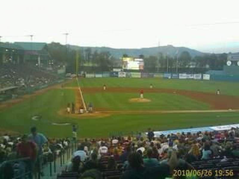 Seating view for Lake Elsinore Diamond