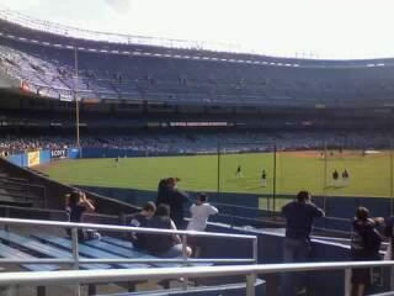 Seating view for Yankee Stadium Section Monument Park