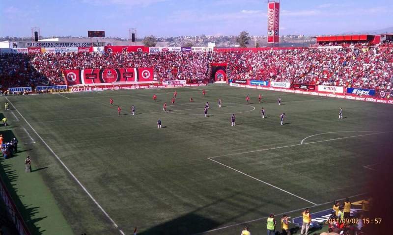 Seating view for Estadio Caliente