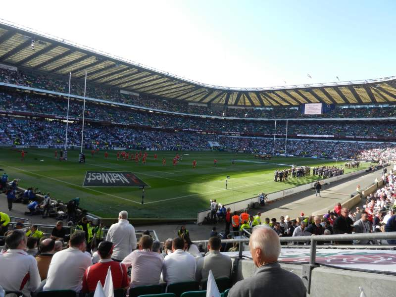 Seating view for Twickenham Stadium Section L31 Row 20 Seat 28