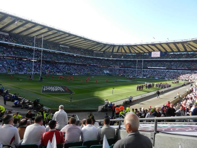 Seating view for Twickenham Stadium Section L31 Row 20 Seat 28