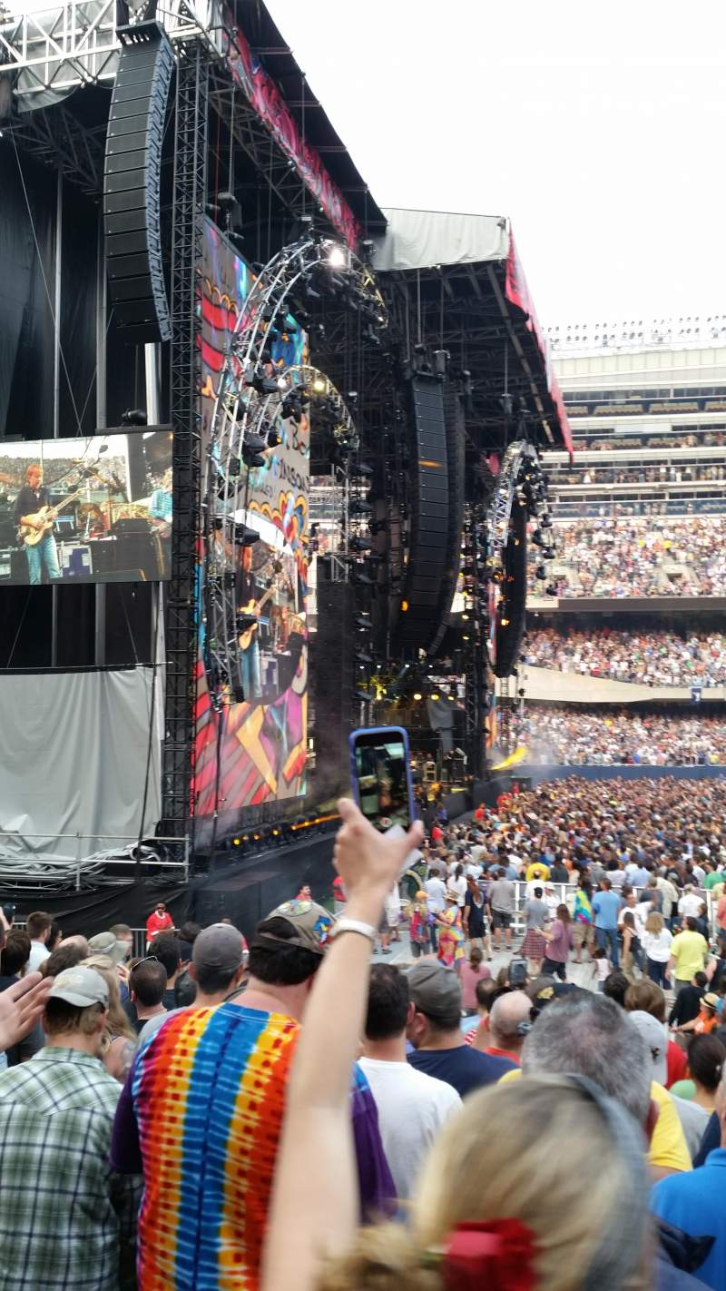 Seating view for Soldier Field Section 143 Row 10 Seat 2