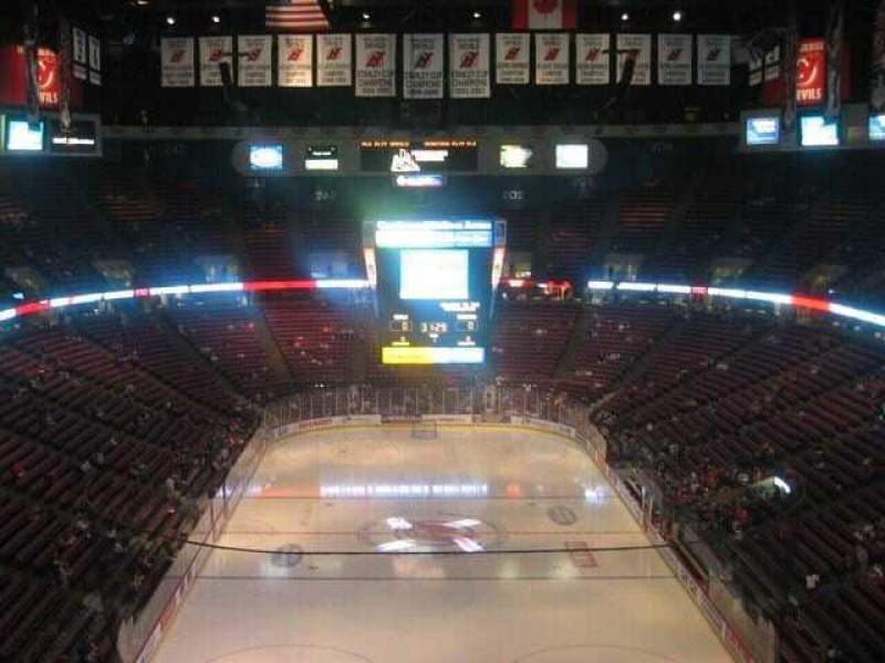 Seating view for Prudential Center