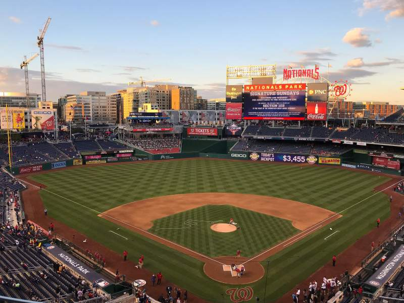 Nationals Park, section: 313, row: B, seat: 11