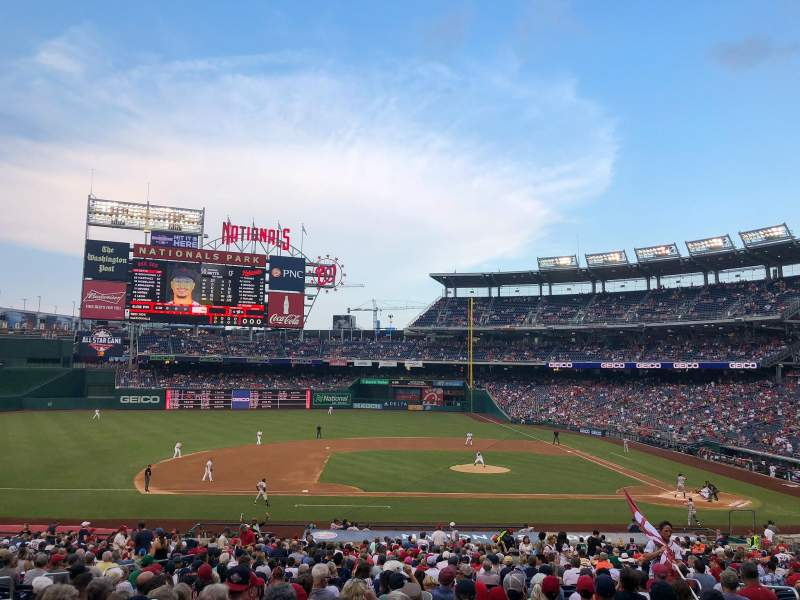 Nationals Park, section: 116, row: TT, seat: 10