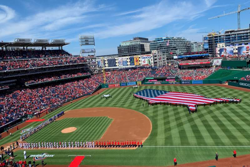 Seating view for Nationals Park Section 321 Row B Seat 11