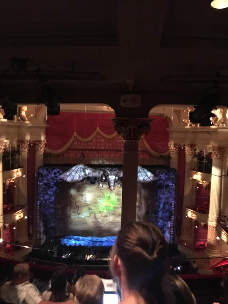 Seating view for Academy of Music Section Family Circle E Row G Seat 112