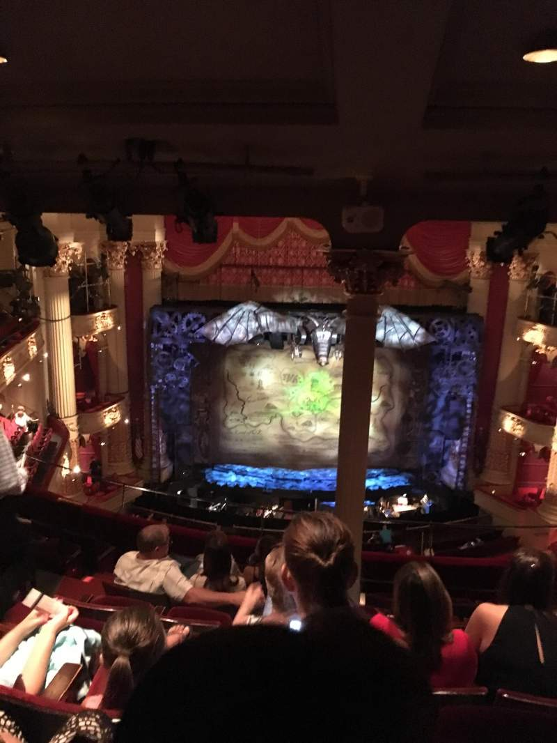 Seating view for Academy of Music Section Family Circle E Row H Seat 112