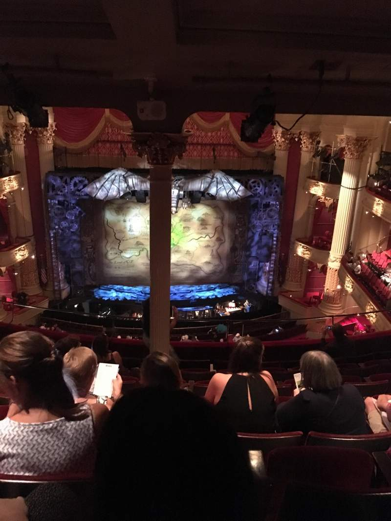Seating view for Academy of Music Section Family Circle E Row H Seat 113