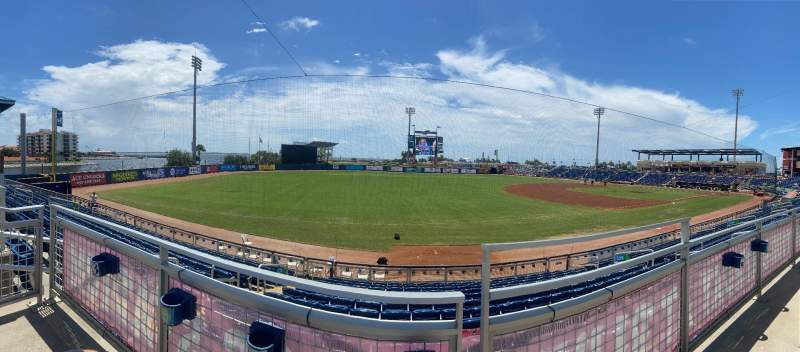 Seating view for Admiral Fetterman Field Section 115