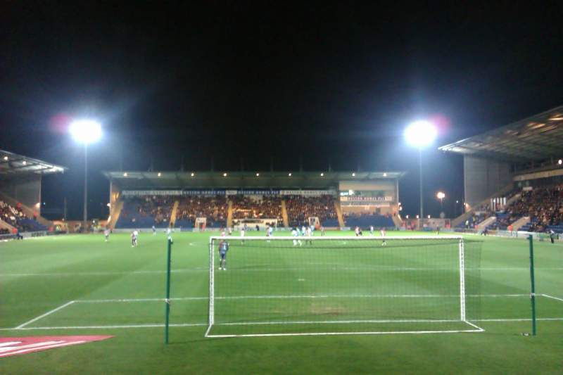 Photos Of The Colchester United At Colchester Community Stadium