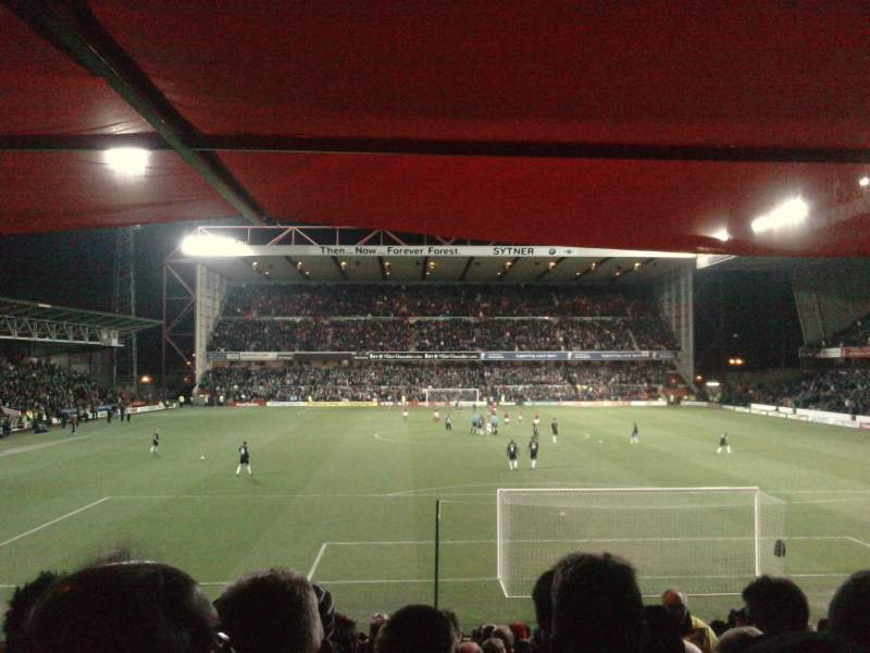 Seating view for City Ground Section Y1 Row X Seat 159