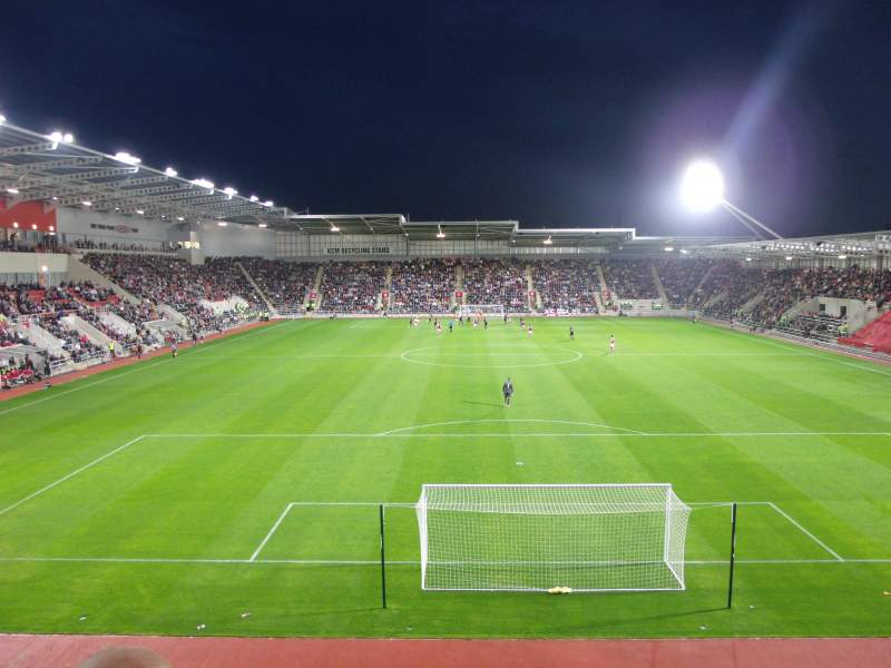 Seating view for New York Stadium Section SS4 Row O Seat 87