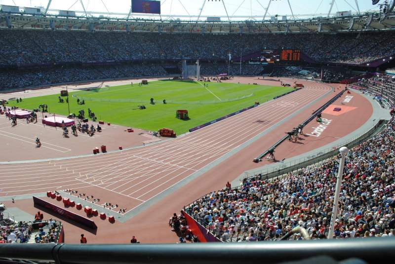 Seating view for Olympic Stadium, London Section 256 Row 43 Seat 662