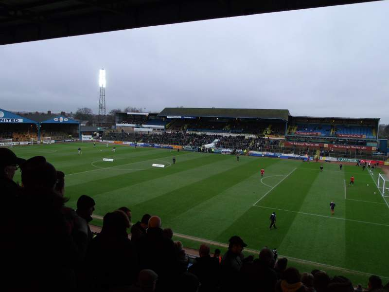 Seating view for Brunton Park Section 3 Row R Seat 5