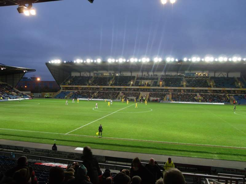 Seating view for Kassam Stadium Section 26 Row T Seat 136
