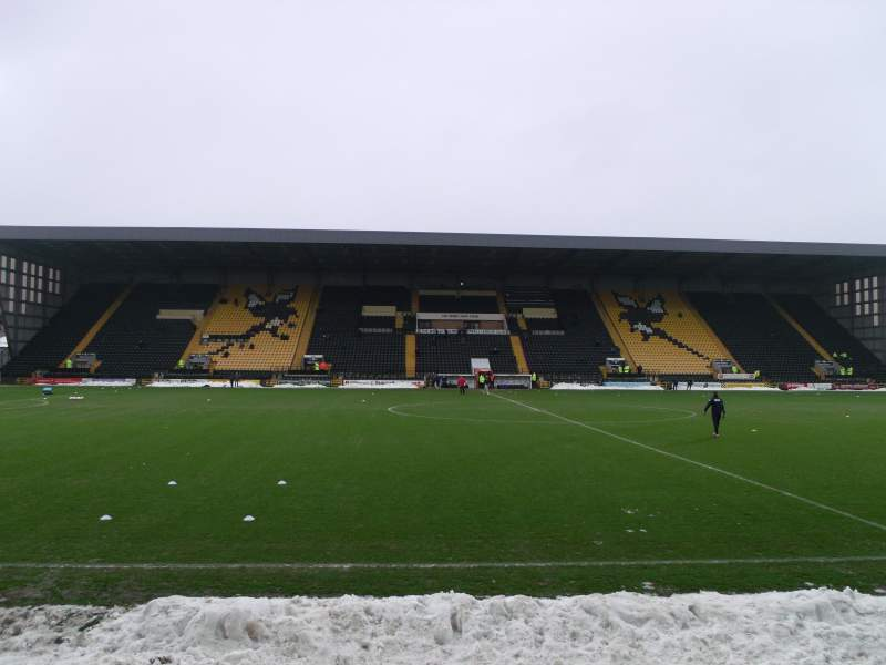 Seating view for Meadow Lane Section Y2 Row F Seat 905