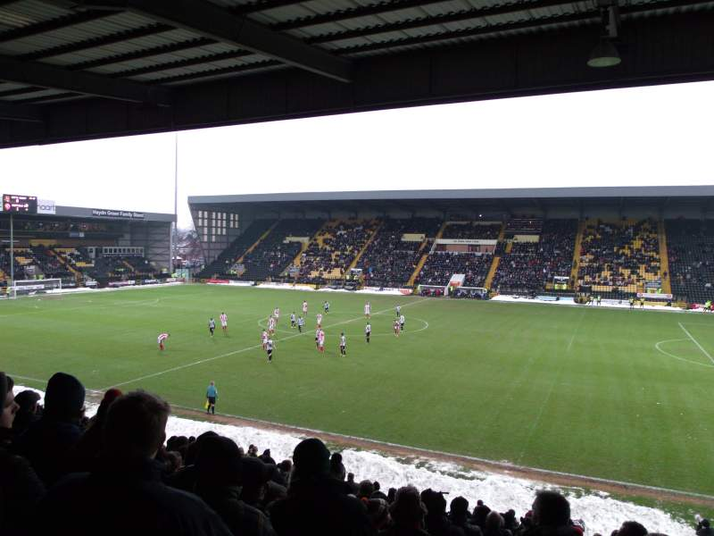 Seating view for Meadow Lane Section X2 Row W Seat 56