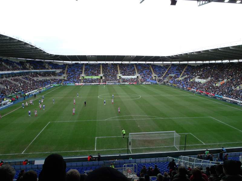 Seating view for Madejski Stadium Section R30 Row EE Seat 139
