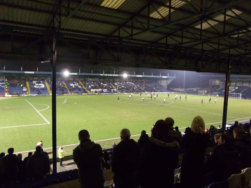 Seating view for Gigg Lane Section Main Stand Row E Seat 165