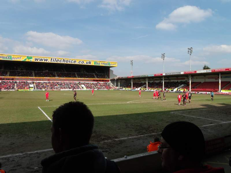 Seating view for Bescot Stadium Section H11 Row D Seat 119