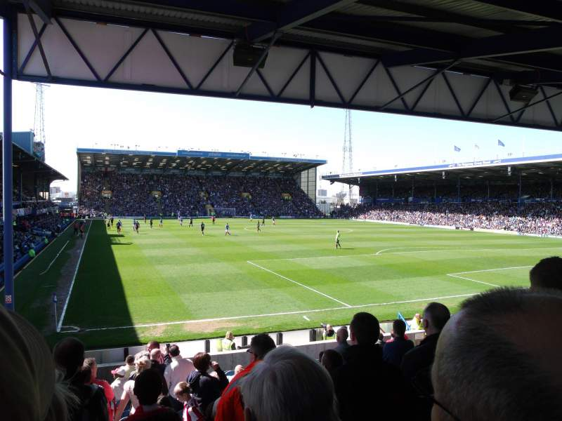 Seating view for Fratton Park Section R Row V Seat 143