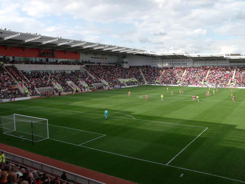 Seating view for New York Stadium Section SS2 Row N Seat 26