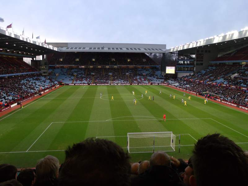 Seating view for Villa Park Section T3 Row L Seat 83