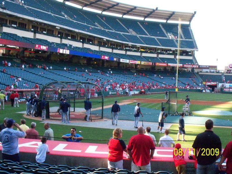 Seating view for Angel Stadium Section F126 Row K Seat 13